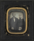 Visualizza Portrett av et eldre par.  Portrait of an eld… anteprime su