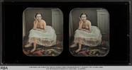Visualizza Sitzender weiblicher Halbakt mit aufgestützte… anteprime su