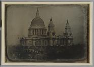 Miniaturansicht Vorschau von View of St. Paul's cathedral, London with nea…