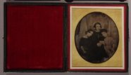 Thumbnail af Family group of three members of the Houghton…