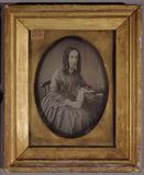 Visualizza Half length portrait of a woman, with left el… anteprime su