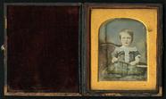 Visualizza Seated three quarter length frontal portrait … anteprime su
