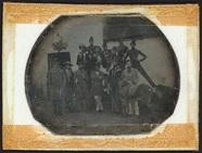 Visualizza Gruppenbild einer Versammlung junger Männer, … anteprime su