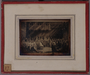 Thumbnail preview of Photograph of a print of Queen Victoria's cor…