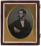 Visualizza A portrait of a sitting man, Frederick Willia… anteprime su