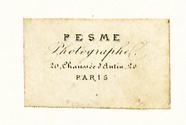 Forhåndsvisning av Etikett von Pesme