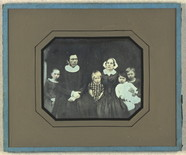 Thumbnail preview of Group portrait of unidentified priest and fam…