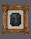 Visualizza Porträt eines unbekannten Paares. Die Dame re… anteprime su