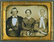Visualizza Gruppenporträt, USA, ca. 1850. anteprime su