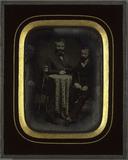 Visualizza Portrait de messieurs Lullin, Pourtales et de… anteprime su