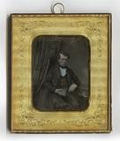 Miniaturansicht Vorschau von Dreiviertelporträt eines unbekannten jungen M…
