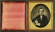 Thumbnail preview of Junger Mann mit Buch, USA, ca. 1846.