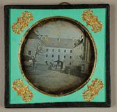 Visualizza Blick in den alten Federlhof in Wien, vor 184… anteprime su