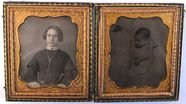 Visualizza Daguerreotype portrait of a young woman and p… anteprime su