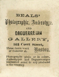 Visualizza photographers label of Beals, Boston, USA anteprime su