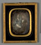 Thumbnail af Bildnis eines Ehepaares, er sitzend, sie an s…