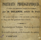 Visualizza photographer label of Delanoy, Paris, France anteprime su