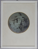 Visualizza Circular photograph of a drawing or engraving… anteprime su
