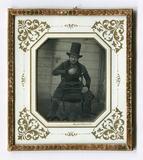 Miniaturansicht Vorschau von Porträt von Eduard Wehnert, auf einem Stuhl s…