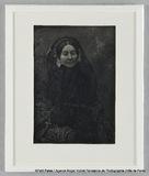 Miniaturansicht Vorschau von Madame Riesener, à mi-corps, avec voile noir …
