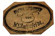 Visualizza Etikett von Dr. Carl Heinrich Ludwig Muhsfeld… anteprime su