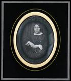 Visualizza Portrait d'une femme vêtue d'une robe.La robe… anteprime su