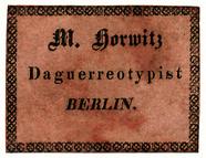 Thumbnail preview van Etikett von M. Horwitz