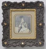 Visualizza Halbfigur einer sitzenden Dame aus der Famili… anteprime su
