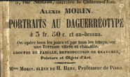 Visualizza photographer label of Mme Alexis Morin, Paris… anteprime su