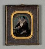 Stručný náhled Bildnis einer sitzenden jungen Frau mit Einsa…