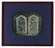 Visualizza two temple guards of a Shiva temple, Java, In… anteprime su