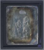 Visualizza Aufnahme von drei Statuen vom Bildhauer Hanns… anteprime su