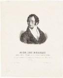 Visualizza Porträt Josef Berres (1796 - 1844). Lithograf… anteprime su