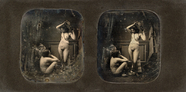 Thumbnail preview of Academic study, two naked woman, one sitting …