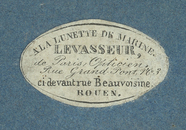 Visualizza photographer label of Mr Levasseur, a Rouen, … anteprime su