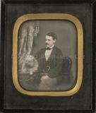 Thumbnail preview of Porträt eines unbekannten Herrn, halbfigurig,…