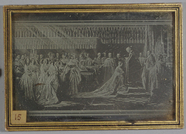 Visualizza Daguerrotype of painting of the Coronation of… anteprime su