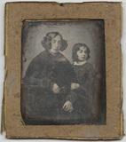 Visualizza Portrait d'une femme et d'une fillette anteprime su