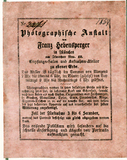 Visualizza Zwei Etiketten von Franz Hebensperger anteprime su