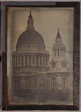 Miniaturansicht Vorschau von View of St. Paul's Cathedral, London, with mo…
