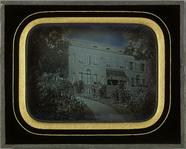 Visualizza Beaulieu (VD), façade principale de la villa … anteprime su