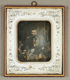Thumbnail preview van Herr in Uniform, um 1852.