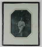 Miniaturansicht Vorschau von loose plate; portrait of unknown person seate…