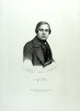 Visualizza Brustbild eines Mannes , lithographiert von S… anteprime su