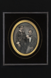 Visualizza Portrait of a man and a woman (couple); the m… anteprime su
