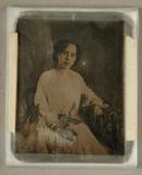 Visualizza Bildnis einer jungen Dame im weißen Kleid, ko… anteprime su