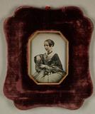 Miniaturansicht Vorschau von Porträt einer Frau, um 1850