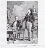 """Forhåndsvisning av Niépce et Daguerre dans une laboratoire """"Niép…"""