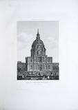 Thumbnail preview of Vue du Dôme des Invalides, Paris. planche no …