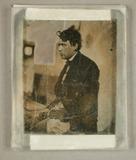 Thumbnail preview of Bildnis eines jungen Mannes, zwischen Schorns…